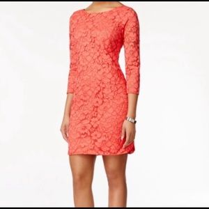 Vince Camuto size 2 Lace Dress NWT
